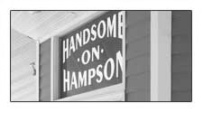 Get Handsome on Hampson